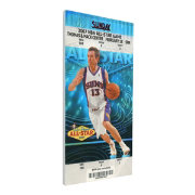 That's My Ticket 2007 NBA All-Star Game Canvas Ticket