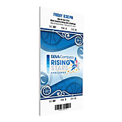 That's My Ticket 2014 Rising Stars Canvas Ticket
