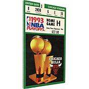 That's My Ticket Chicago Bulls 1993 NBA Finals Canvas Ticket
