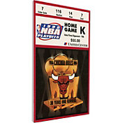 That's My Ticket Chicago Bulls 1996 NBA Finals Game 5 Canvas Ticket