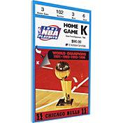 That's My Ticket Chicago Bulls 1997 NBA Finals Game 2 Canvas Ticket
