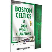 That's My Ticket Boston Celtics 2008 Banner Raising Ceremony Canvas Ticket