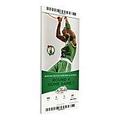 That's My Ticket Boston Celtics 2008 NBA Finals Game 1 Canvas Ticket