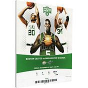 That's My Ticket Boston Celtics Big 3 Debut Canvas Ticket