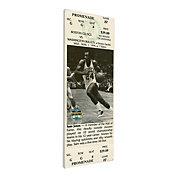 That's My Ticket Boston Celtics Sam Jones Retirement Canvas Ticket