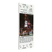 That's My Ticket Boston Celtics Jo Jo White Retirement Canvas Ticket
