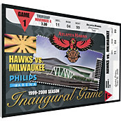 That's My Ticket Atlanta Hawks Philips Arena Inaugural Game Canvas Ticket