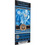 That's My Ticket New York Knicks Carmelo Anthony Artist Series Canvas Ticket