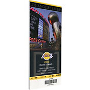 That's My Ticket Los Angeles Lakers 2009 NBA Finals Game 1 Canvas Ticket