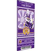 That's My Ticket Los Angeles Lakers Kobe Bryant Artist Series Canvas Ticket