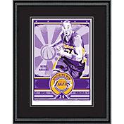 That's My Ticket Los Angeles Lakers Kobe Bryant Sports Propaganda Framed Serigraph