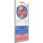 That's My Ticket Detroit Pistons 1990 NBA Finals Game 2 Canvas Ticket