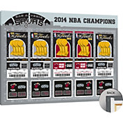 That's My Ticket San Antonio Spurs 2014 NBA Finals Tickets Canvas Print