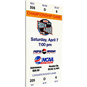 That's My Ticket Boston College Eagles 2001 NCAA Frozen Four Canvas Mega Ticket