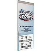 That's My Ticket Boston College Eagles 2010 NCAA Frozen Four Canvas Mega Ticket