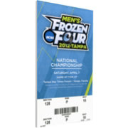 That's My Ticket Boston College Eagles 2012 NCAA Frozen Four Canvas Mega Ticket