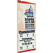 That's My Ticket Boston University Terriers 2009 NCAA Frozen Four Canvas Mega Ticket