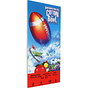 That's My Ticket BYU Cougars 1997 Cotton Bowl Canvas Mega Ticket