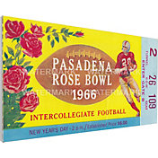 That's My Ticket UCLA Bruins 1966 Rose Bowl Canvas Mega Ticket