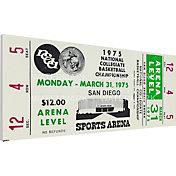 That's My Ticket UCLA Bruins 1975 NCAA Basketball Finals Canvas Mega Ticket