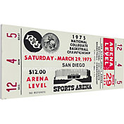 That's My Ticket UCLA Bruins 1975 NCAA Basketball Semifinals Canvas Mega Ticket