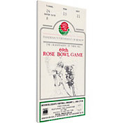 That's My Ticket UCLA Bruins 1983 Rose Bowl Canvas Mega Ticket