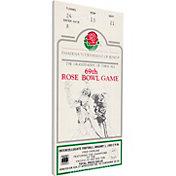 That's My Ticket UCLA Bruins 1983 Rose Bowl Canvas Mega Ticket