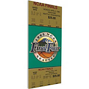 That's My Ticket UCLA Bruins 1995 NCAA Final Four Canvas Mega Ticket