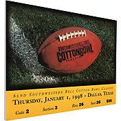 That's My Ticket UCLA Bruins 1998 Cotton Bowl Canvas Mega Ticket