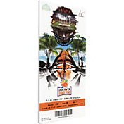 That's My Ticket Clemson Tigers 2014 Orange Bowl Canvas Mega Ticket