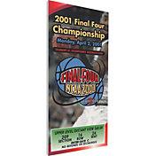 That's My Ticket Duke Blue Devils 2001 NCAA Final Four Canvas Mega Ticket