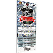 That's My Ticket Florida State Seminoles 2014 BCS National Championship Game Canvas Mega Ticket