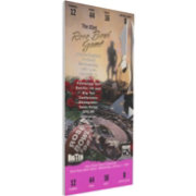 That's My Ticket Ohio State Buckeyes 1997 Rose Bowl Canvas Mega Ticket