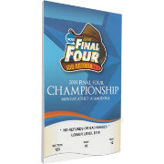 That's My Ticket Kansas Jayhawks 2008 NCAA Final Four Canvas Mega Ticket