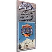 That's My Ticket Kentucky Wildcats 1998 NCAA Final Four Canvas Mega Ticket