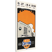 That's My Ticket Ole Miss Rebels 2009 Cotton Bowl Canvas Mega Ticket