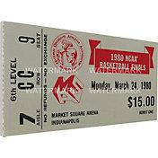 That's My Ticket Louisville Cardinals 1980 NCAA Basketball Finals Canvas Mega Ticket
