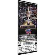 That's My Ticket Michigan Wolverines 2012 Sugar Bowl Canvas Mega Ticket