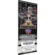 That's My Ticket Michigan Wolverines 2012 Sugar Bowl Canvas Mega Ticket