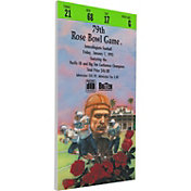 That's My Ticket Michigan Wolverines 1993 Rose Bowl Canvas Mega Ticket