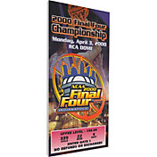 That's My Ticket Michigan State Spartans 2000 NCAA Final Four Canvas Mega Ticket