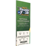 That's My Ticket Minnesota-Duluth Bulldogs 2011 NCAA Frozen Four Canvas Mega Ticket