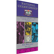 That's My Ticket Miami Hurricanes 2002 BCS National Championship Canvas Mega Ticket