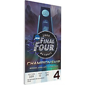 That's My Ticket North Carolina Tar Heels 2009 NCAA Final Four Canvas Mega Ticket