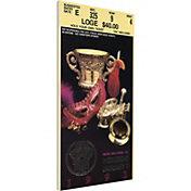 That's My Ticket Notre Dame Fighting Irish 1992 Sugar Bowl Canvas Mega Ticket