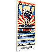 That's My Ticket Oregon Ducks 2012 Rose Bowl Canvas Mega Ticket