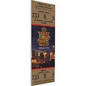 That's My Ticket Arkansas Razorbacks 1994 NCAA Final Four Canvas Mega Ticket