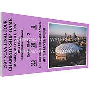 That's My Ticket Arizona Wildcats 1997 NCAA Final Four Canvas Mega Ticket
