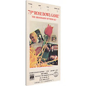 That's My Ticket Arizona State Sun Devils 1987 Rose Bowl Canvas Mega Ticket