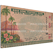 That's My Ticket USC Trojans 1939 Rose Bowl Canvas Mega Ticket